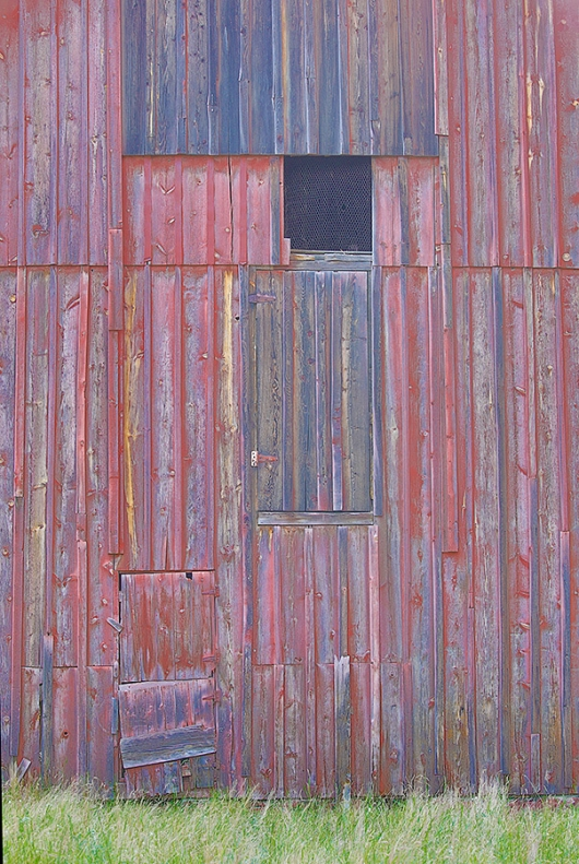 side-of-old-barn-Art-Vivid-HDR-_P3A0502-Palouse,-WA