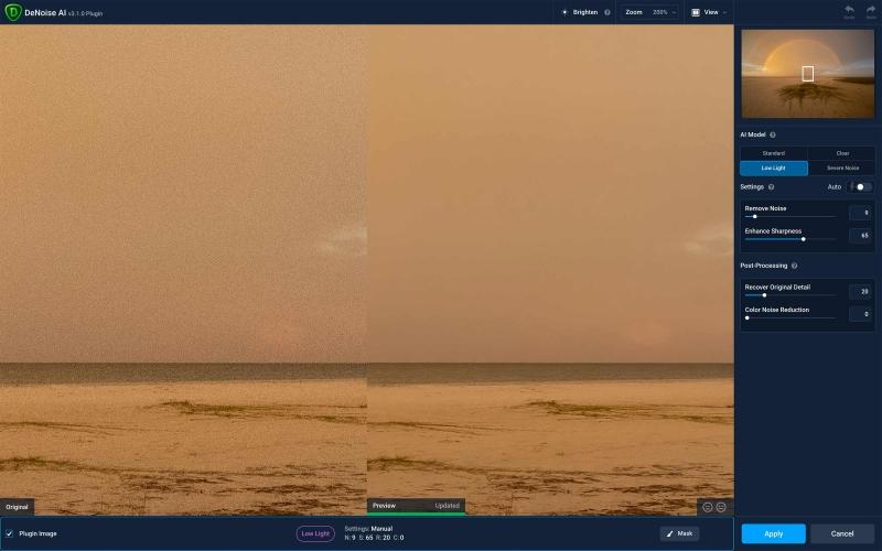 Rainbow-DeNoise-1